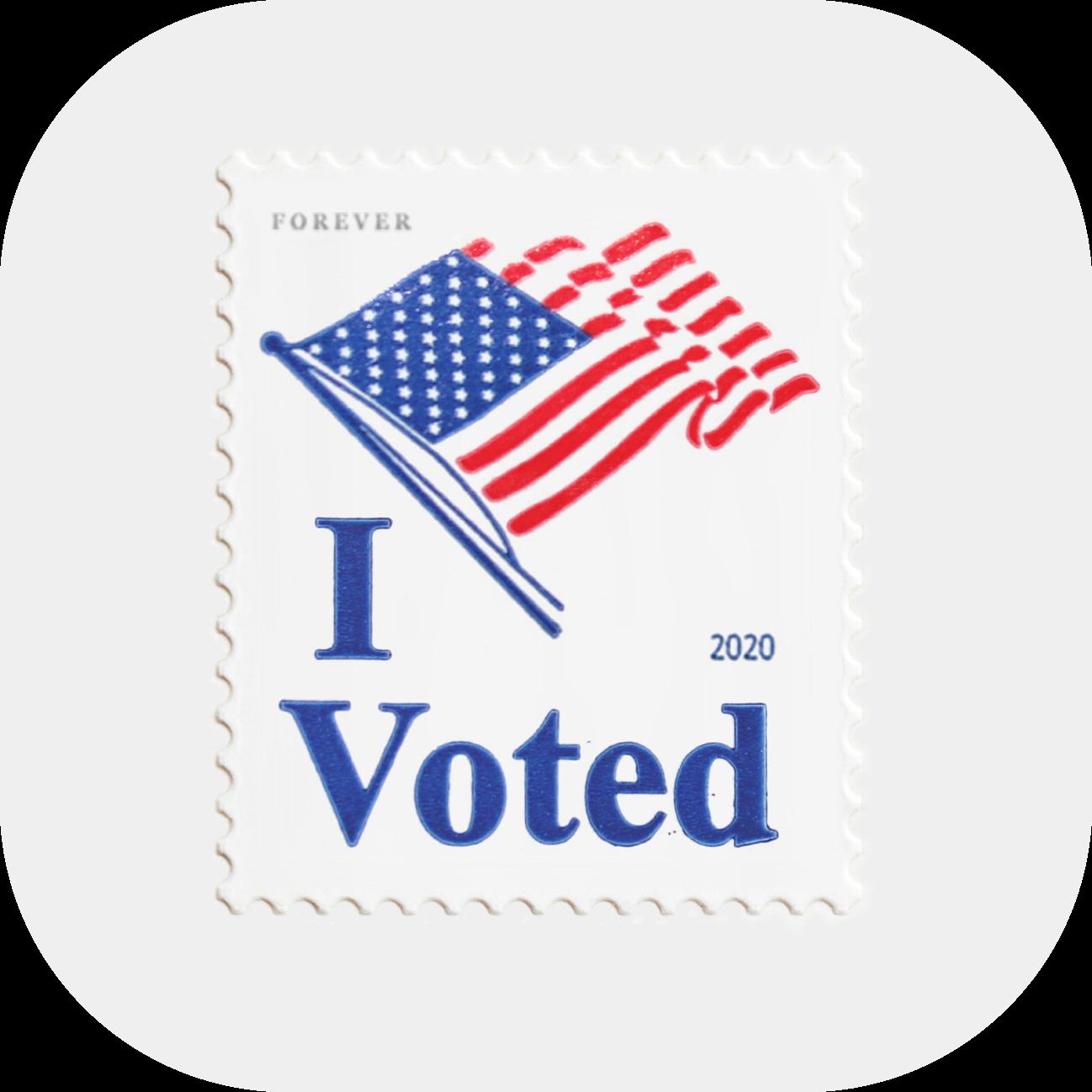 """I Voted"" Stamp"